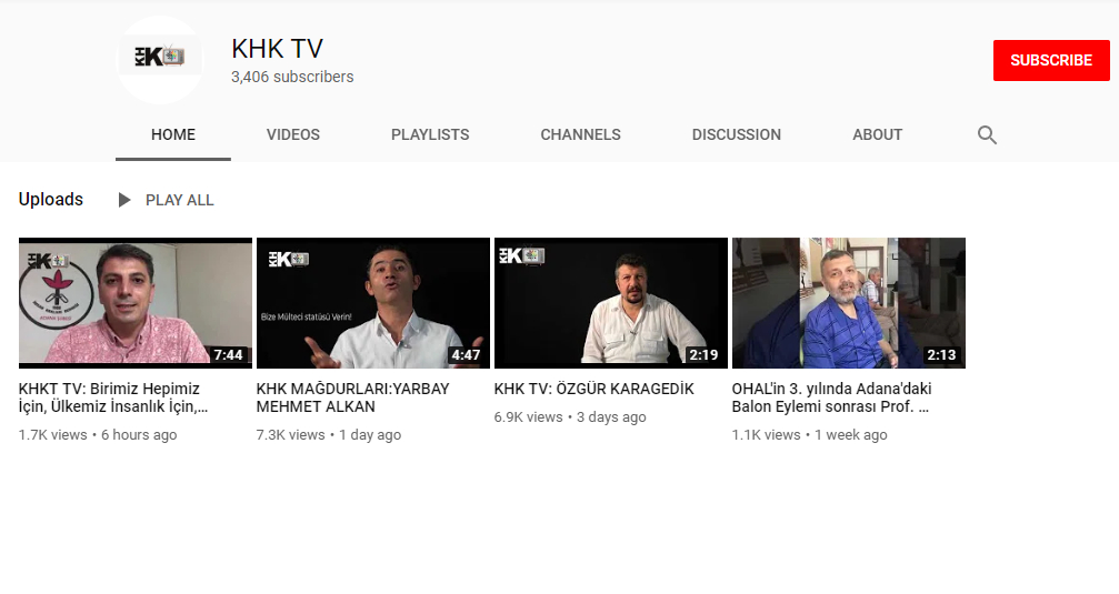 Turkey's purge victims launch online TV station on YouTube