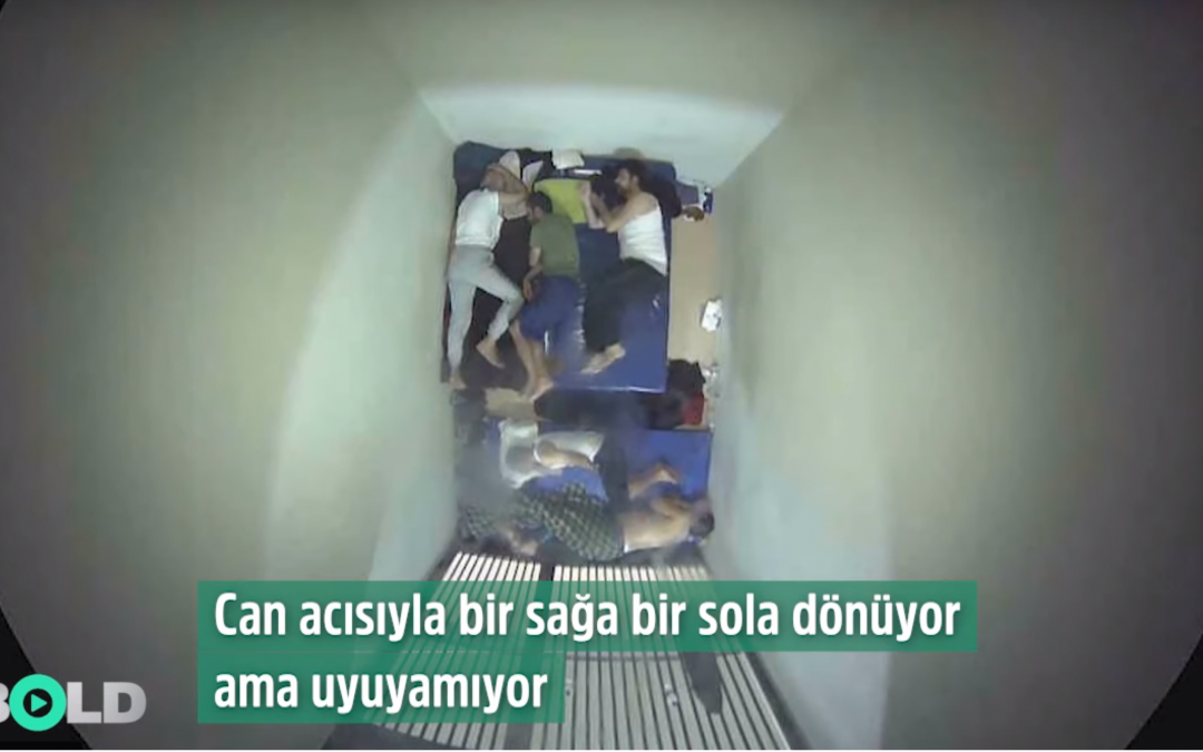 Video shows the moments history teacher Gokhan Acikkollu died of heart attack in prison