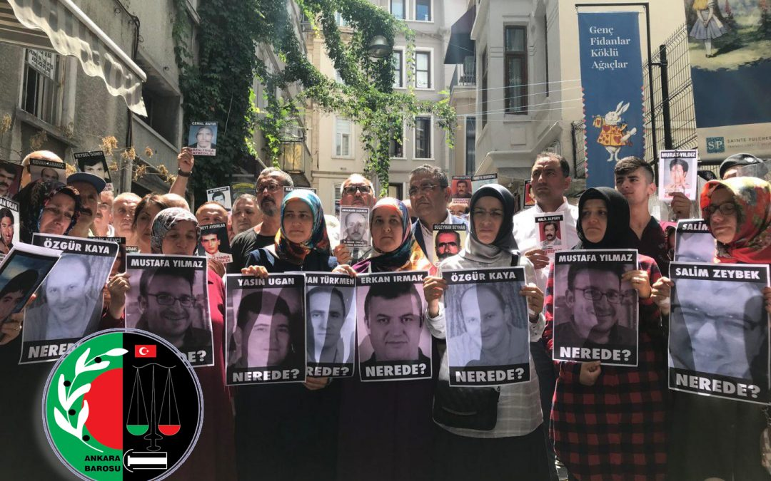 Ankara Bar Association says denied access to previously missing Gülenists who are now in police custody