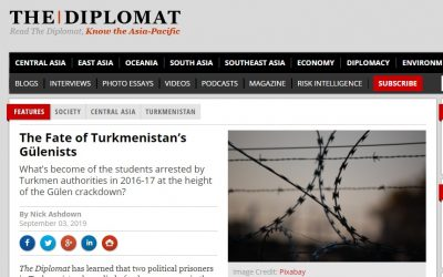 Two Gulen-linked arrestees die in Turkmen prison: report