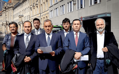 "Exiled Turkish lawyers hold ""alternative"" judicial ceremony in Berlin"