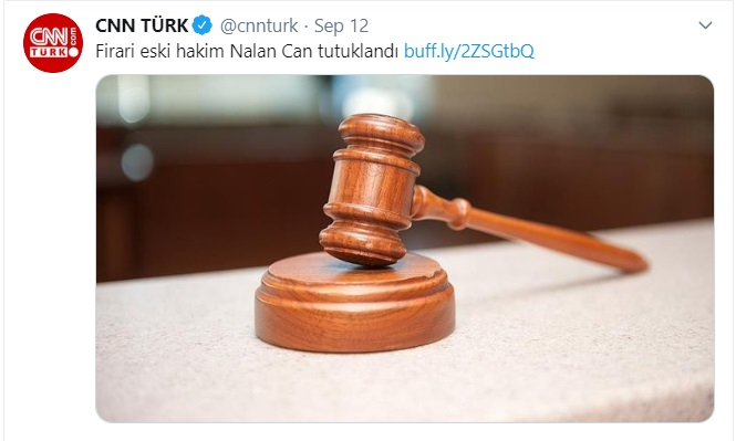 Dismissed Turkish judge put in pre-trial detention on coup charges: report