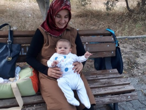 Turkish woman with 2-month-old baby held in Mersin prison for over a month on terror charges