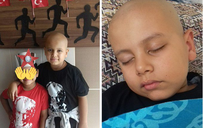 8-year-old cancer patient denied passport due to father's alleged links to Turkey's Gülen group
