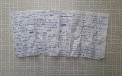 Leaked napkin reveals 10 female teachers, 1 dentist held in degrading prison conditions in Şanlıurfa