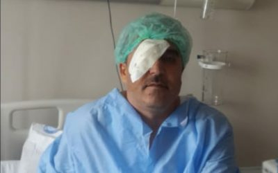 Turkish man sent to prison days after two consecutive eye surgeries: report