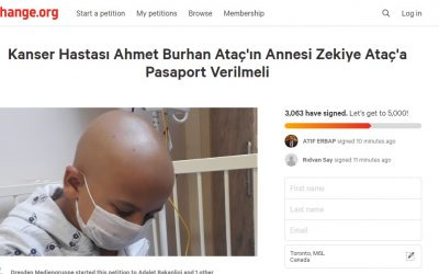 Take Action: Sign petition to reunite purge-victim mother with 8-year old cancer patient son in Germany ||