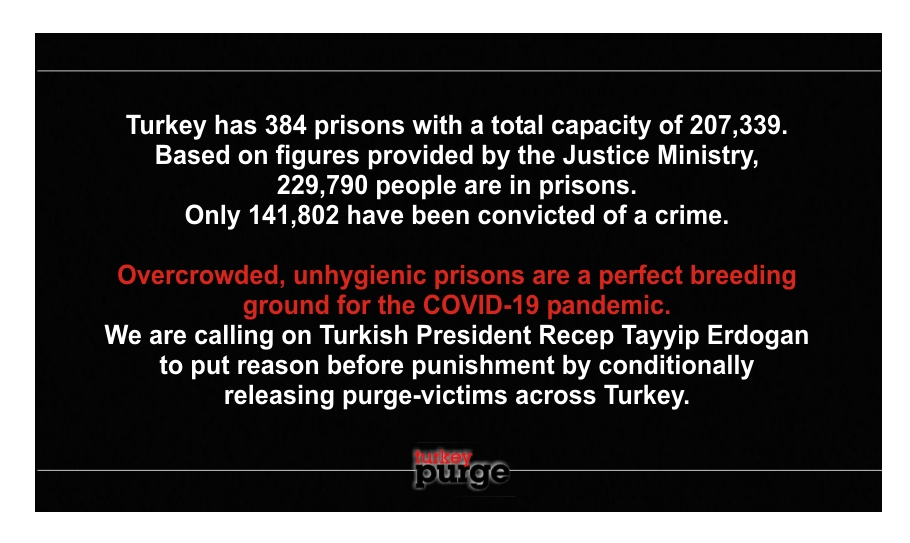 ANNOUNCEMENT: We're concerned about the fate of people in Turkish prisons