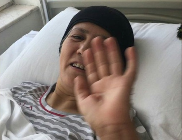 52-year-old woman with stage 4 cancer  held in Gaziantep prison over terror, coup charges