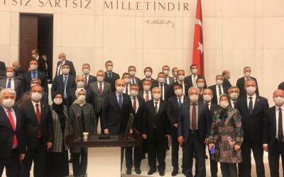 Turkish parliament passes coronavirus release bill that excludes political prisoners