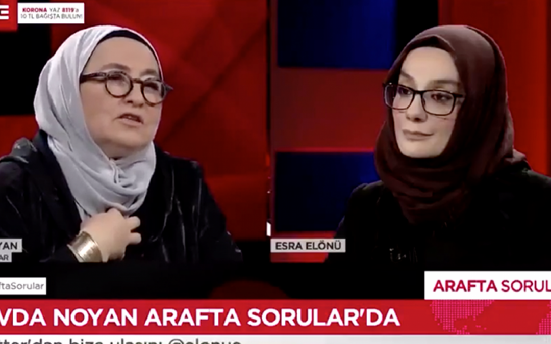 Turkish commentator says her family is ready to execute people for Erdogan