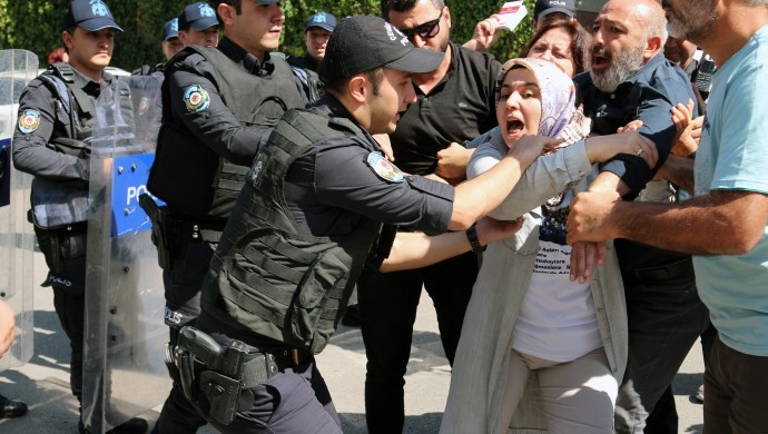 Turkey jails mother of imprisoned military cadet