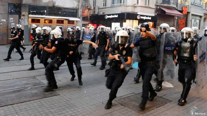 Turkish police stifle 56 protests, detain 618 people throughout May