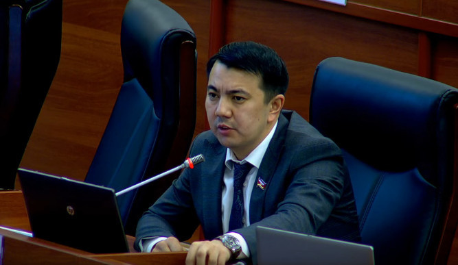 """""""We will not allow other counties to conduct illegal operations in Kyrgyzstan,"""" says MP Mamataliev"""
