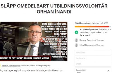 Take Action: Sign petition to call on Kyrgyz authorities to prevent illegal deportation of Turkish educator to Turkey
