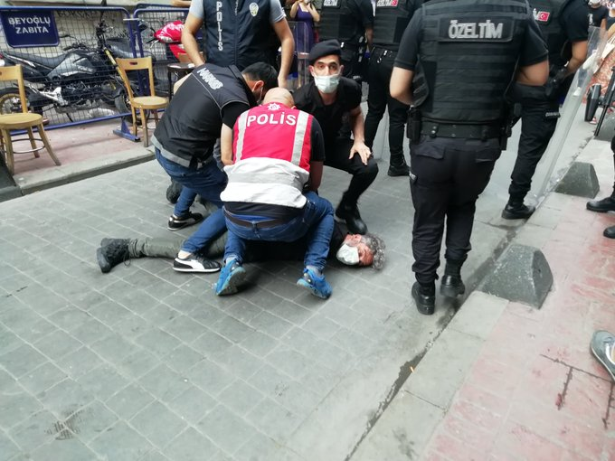 Turkish police assault AFP photojournalist during Pride march