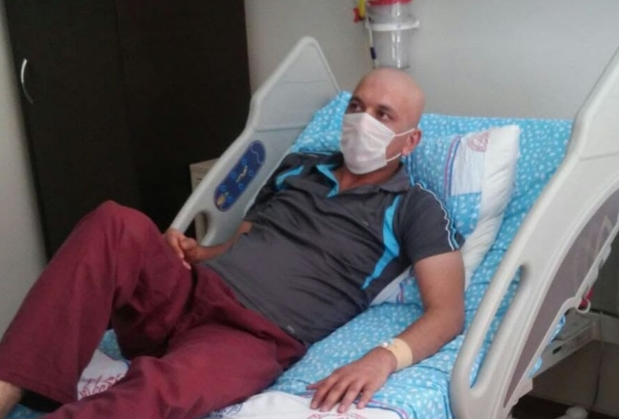 Imprisoned stage 4 cancer patient hospitalized for immediate angiography: report