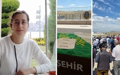 Purge-victim Turkish judge died of heart-related causes laid to rest with hundreds in attendance