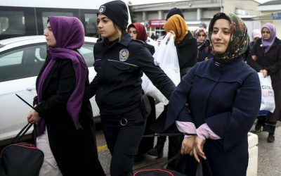 """Turkish police detain 43 people for """"aiding"""" families of post-coup victims"""