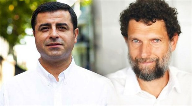 Opposition leader says Kavala and Demirtaş in prison over trumped-up charges: report